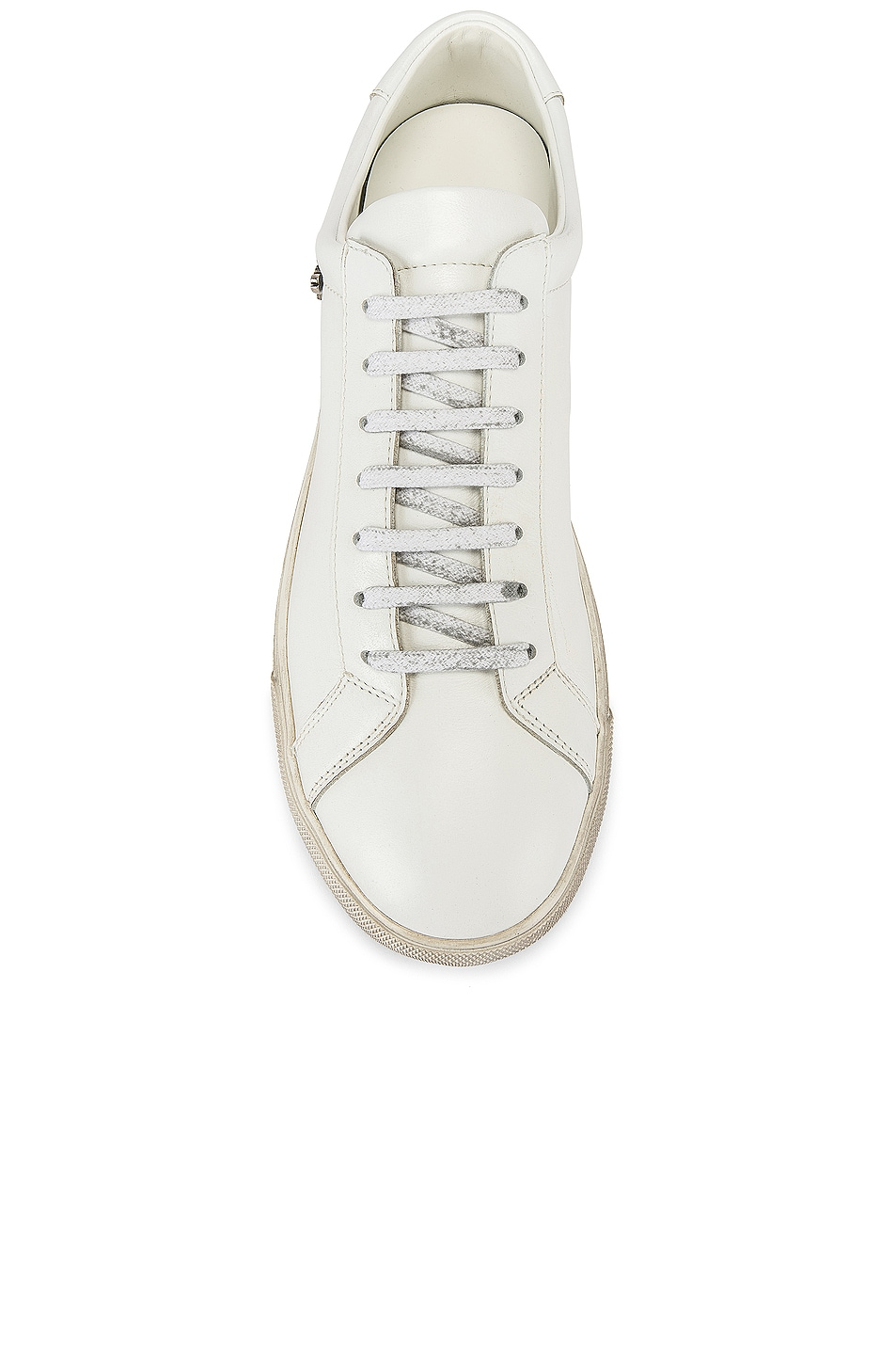 Image 5 of Saint Laurent Andy Low Tops in Optical White