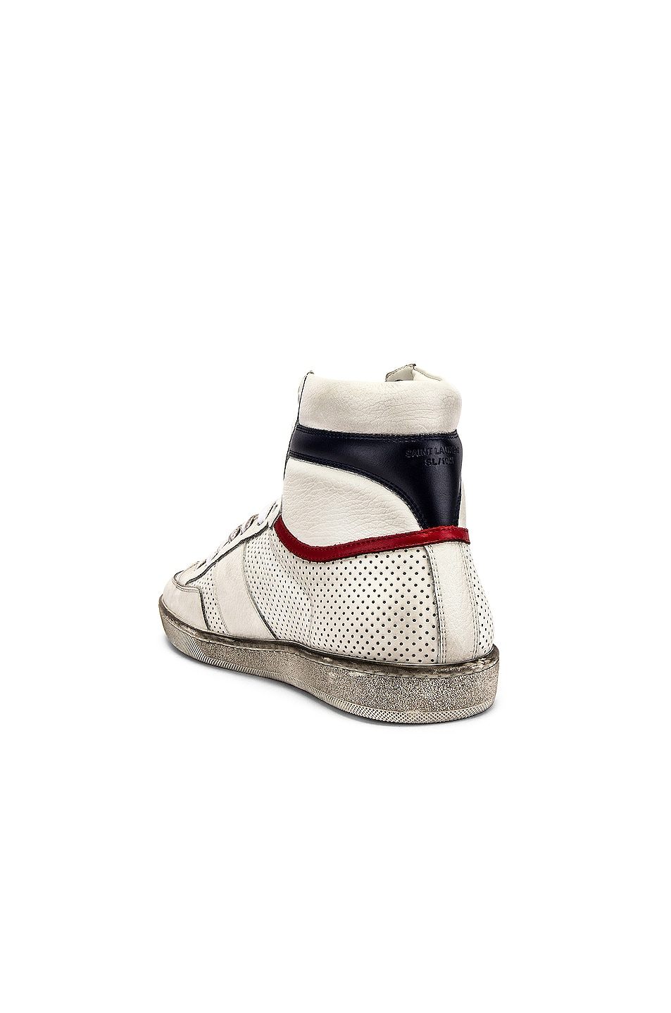 Image 3 of Saint Laurent Court Classic High Top Sneakers in White