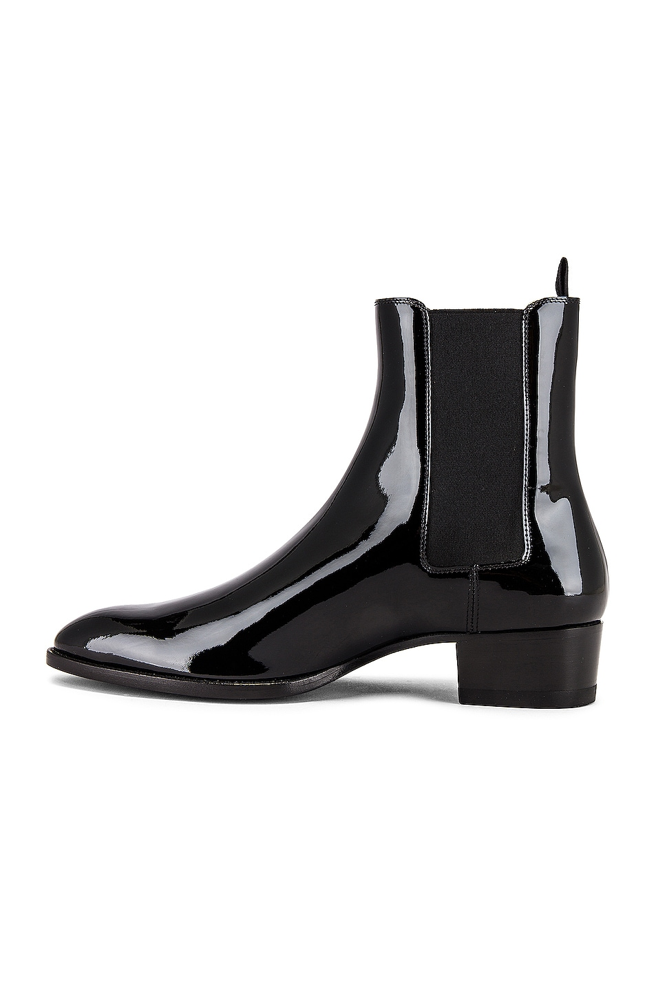 Image 5 of Saint Laurent Leather Boots in Black