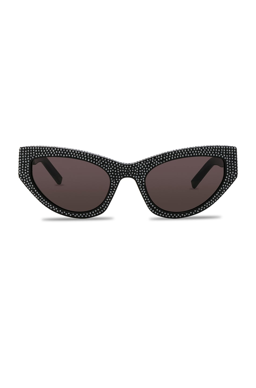 Image 1 of Saint Laurent Grace Sunglasses in Black
