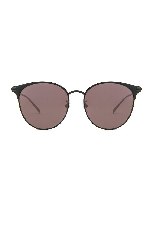 Image 1 of Saint Laurent SL 202 Sunglasses in Black