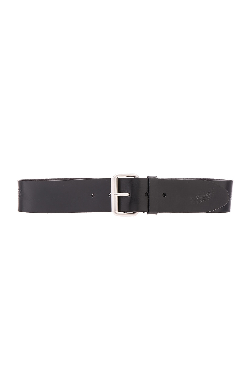 Image 1 of Saint Laurent Motorcycle Chunky Belt in Black