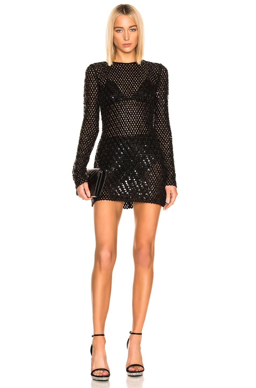 Image 1 of Saint Laurent Mini Dress in Black