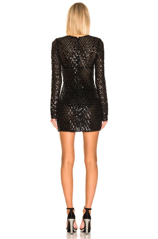 Image 3 of Saint Laurent Mini Dress in Black