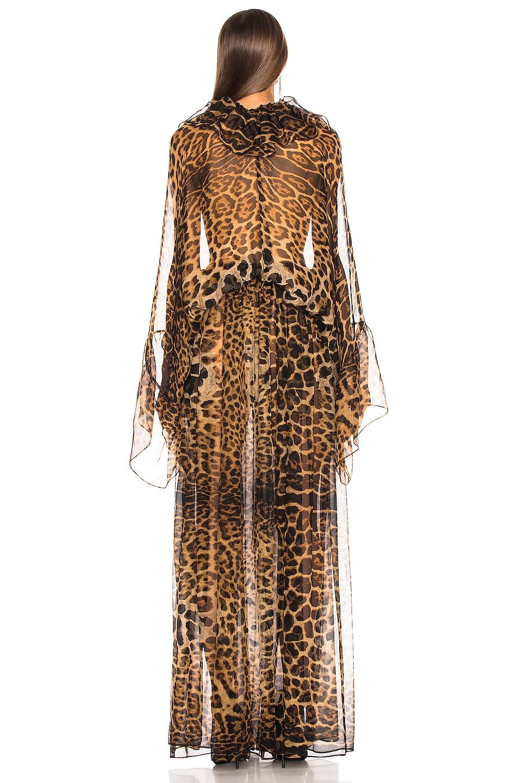 Image 3 of Saint Laurent Leopard Dress in Leopard