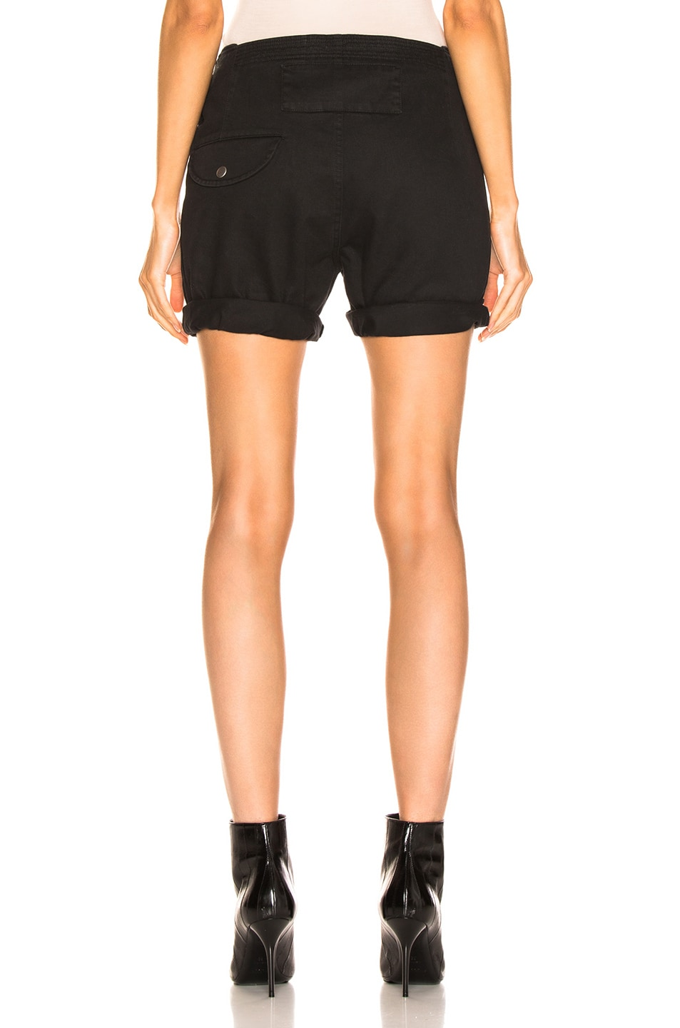 Image 3 of Saint Laurent Shorts in Black