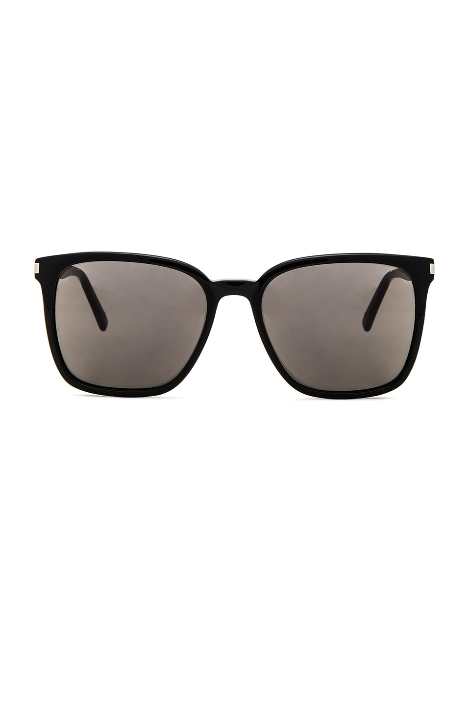 Image 1 of Saint Laurent SL 93 Sunglasses in Black & Smoke
