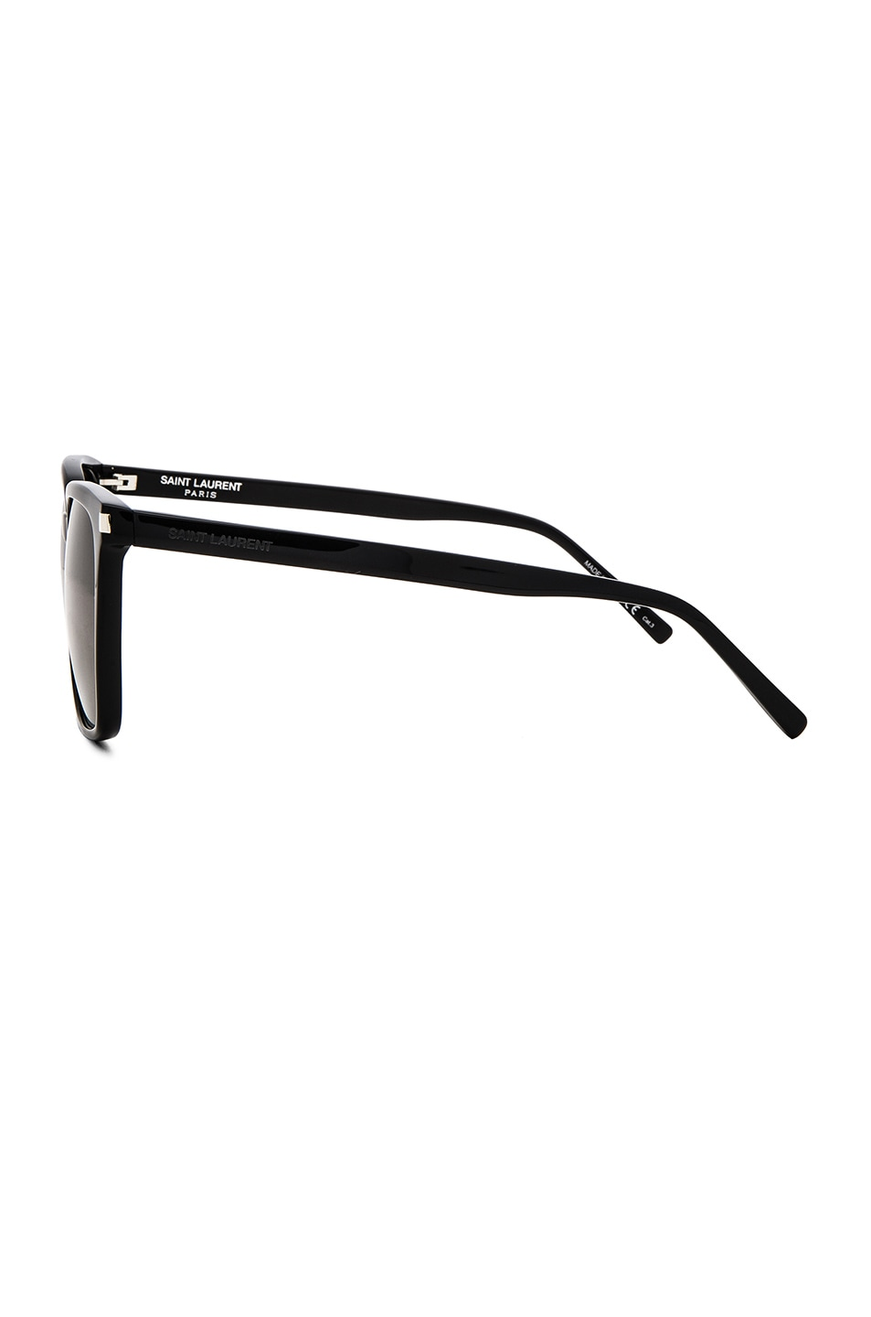 32a72d854f01 Image 3 of Saint Laurent SL 93 Sunglasses in Black & Smoke