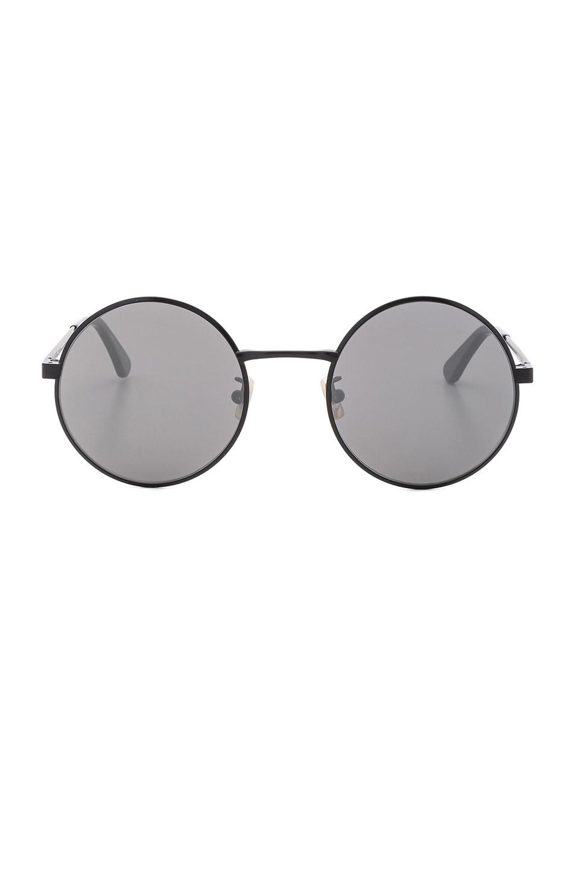 Image 1 of Saint Laurent SL 136 Zero Sunglasses in Matte Black & Silver