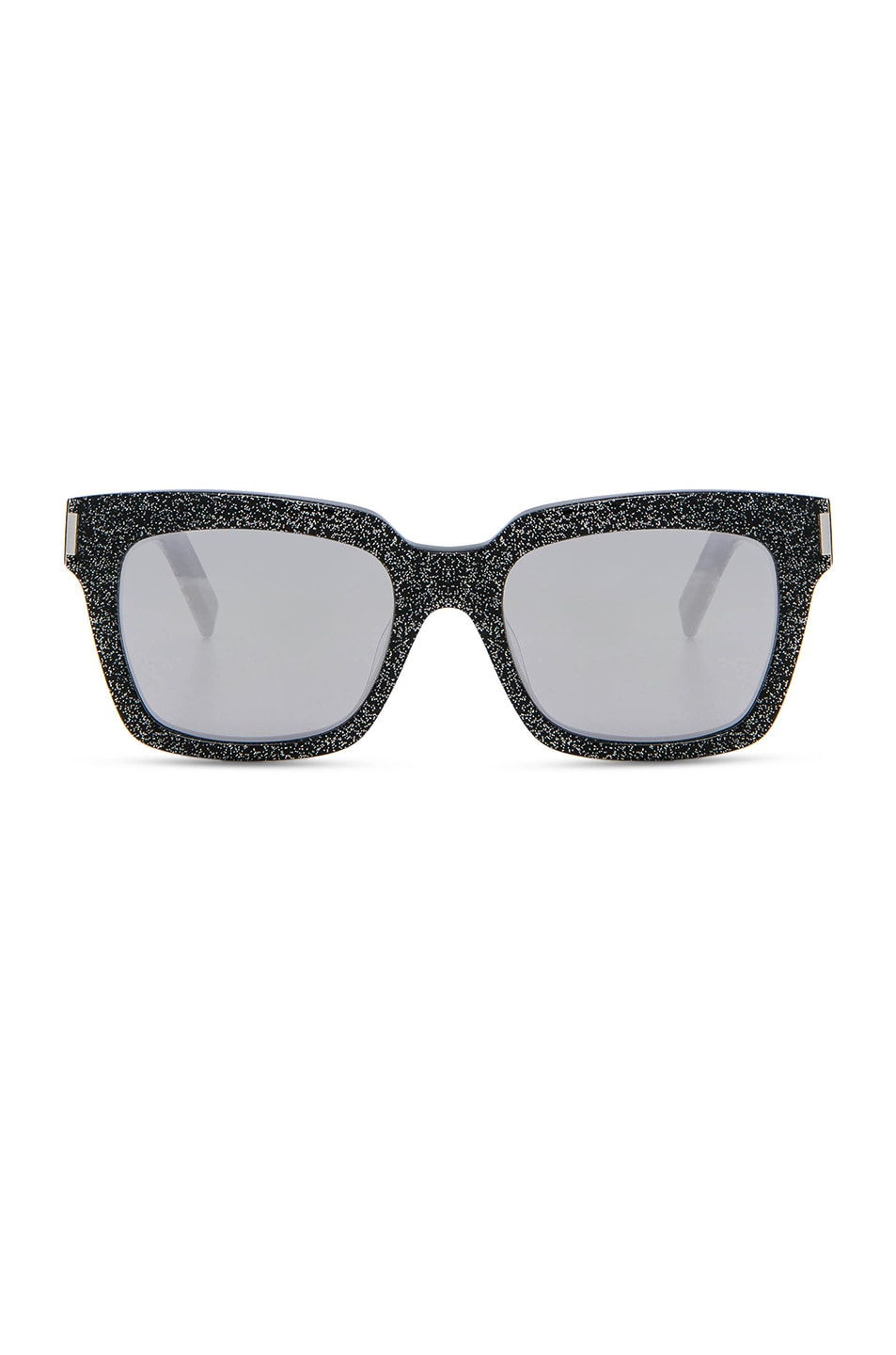 Image 1 of Saint Laurent Bold 1 Sunglasses in Glitter Multicolor, Silver & White