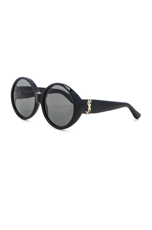 Image 2 of Saint Laurent SL M1 Sunglasses in Black