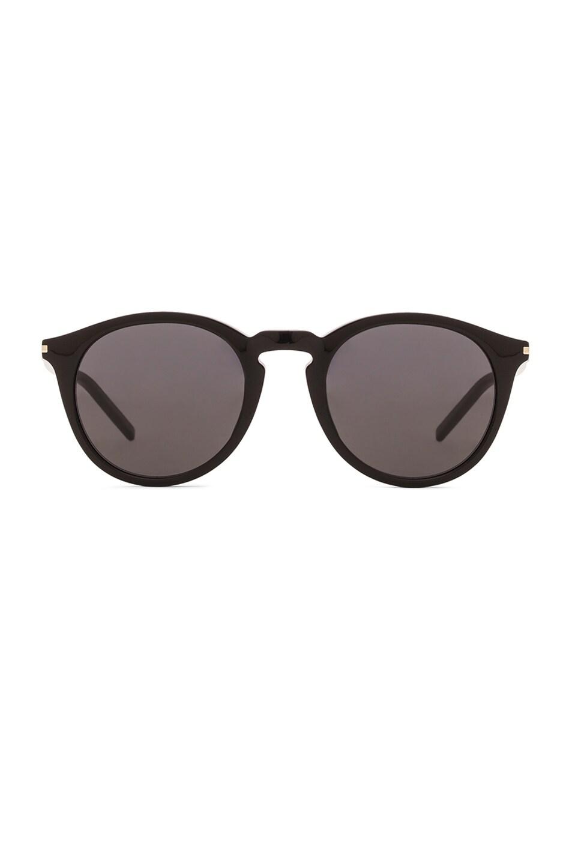 Image 1 of Saint Laurent 53S Sunglasses in Black