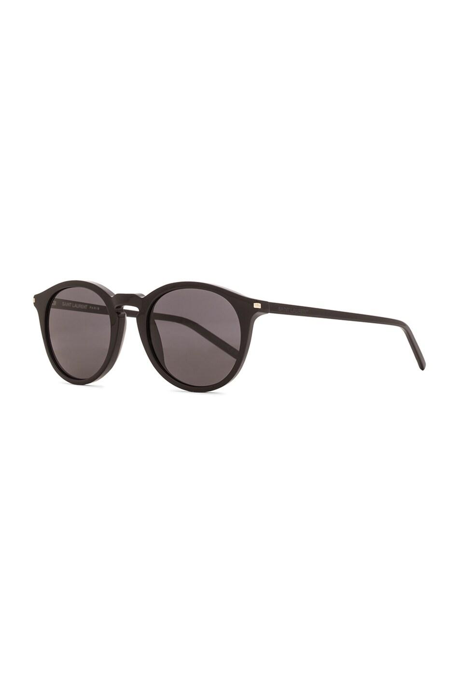 Image 2 of Saint Laurent 53S Sunglasses in Black