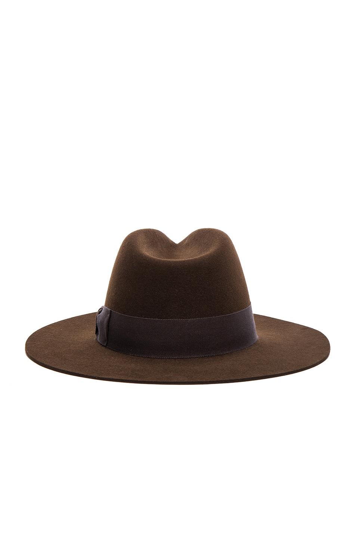 Image 5 of Saint Laurent Hat in Marron