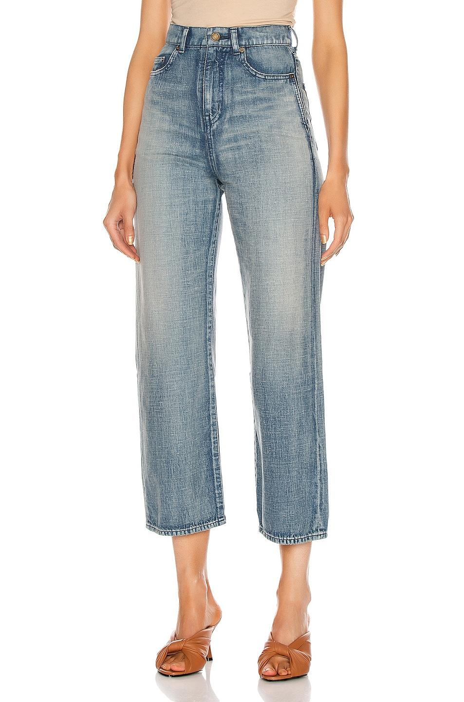 Image 1 of Saint Laurent Original Jean in Sun Dirty Blue