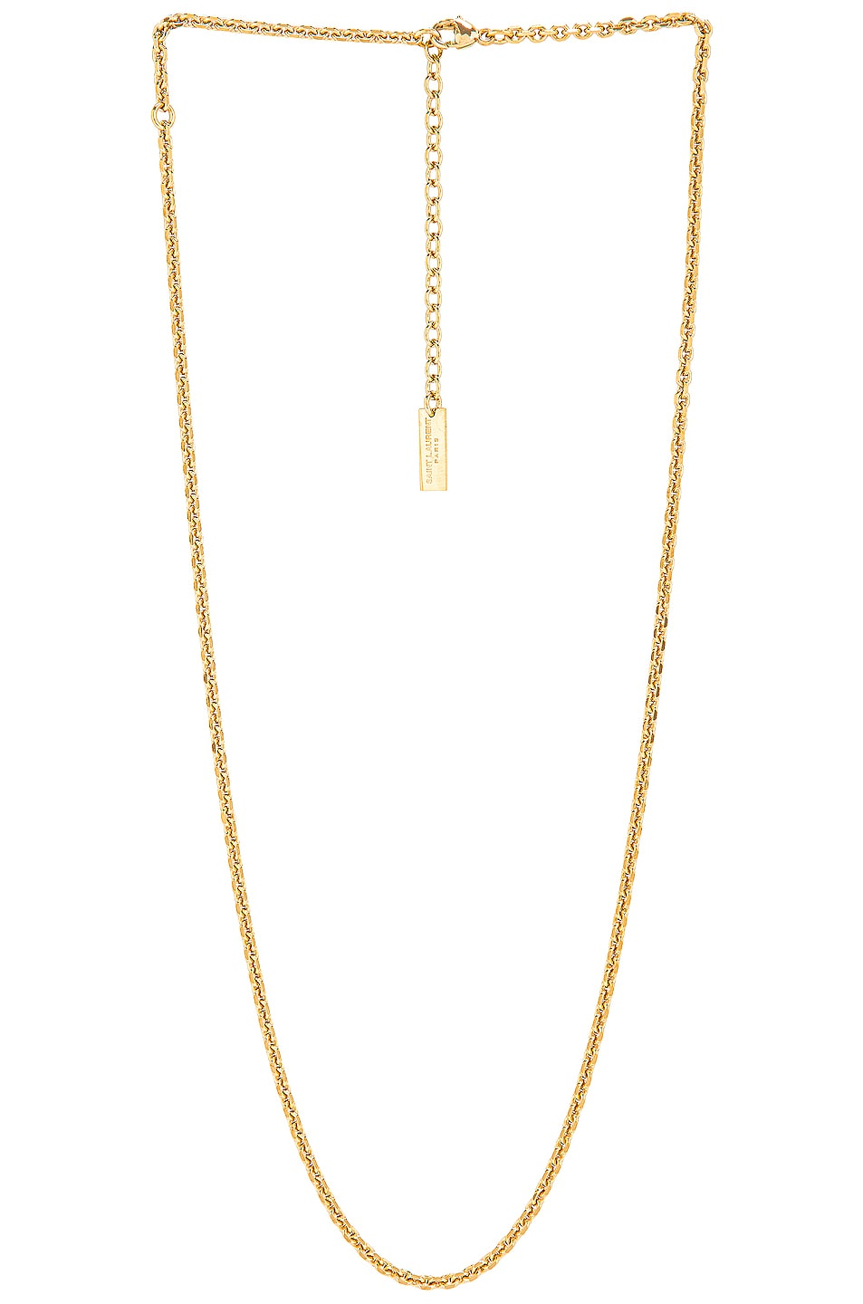 Image 1 of Saint Laurent Chain Necklace in Gold