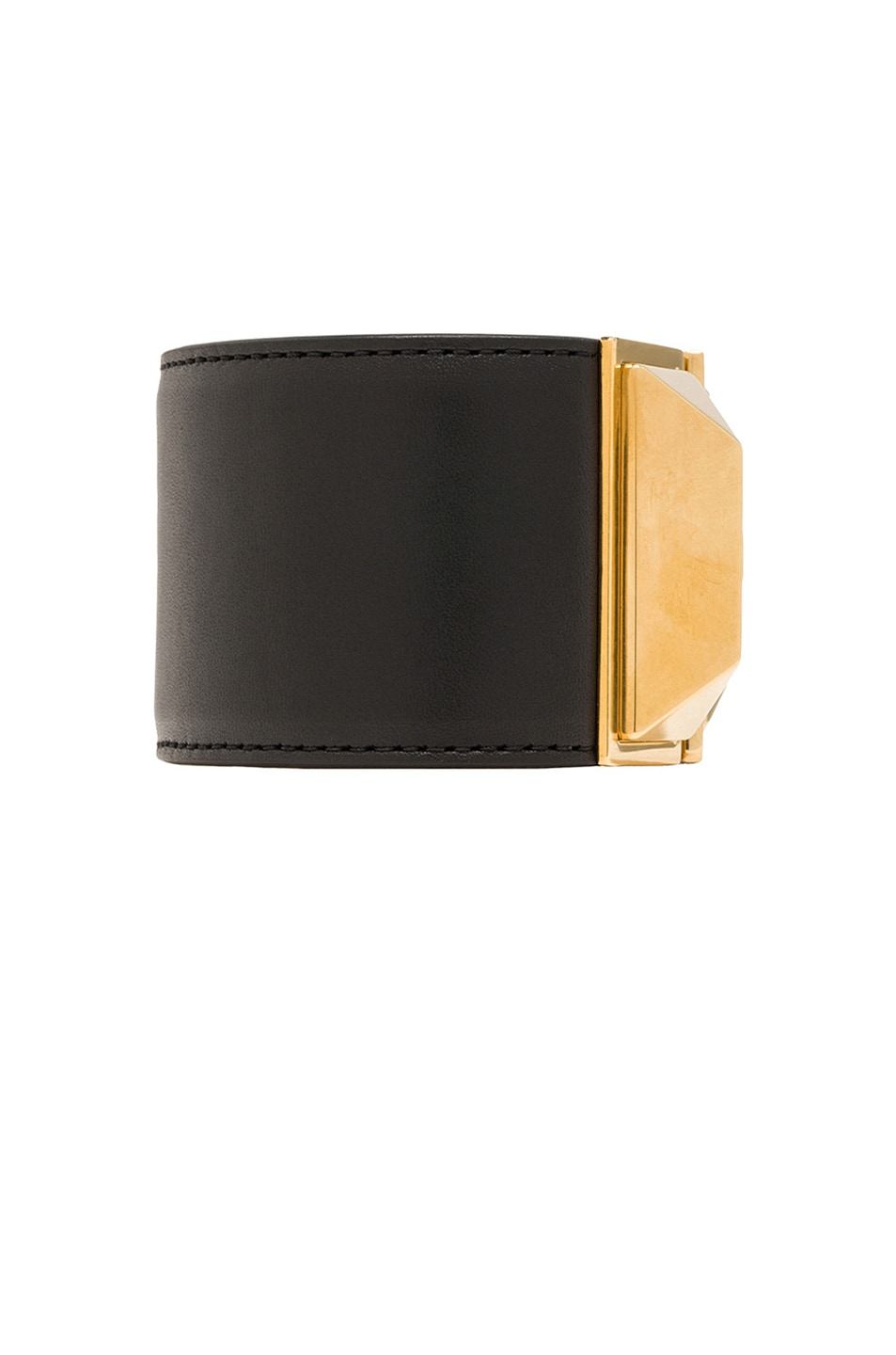 Image 2 of Saint Laurent Punk Bracelet in Gold
