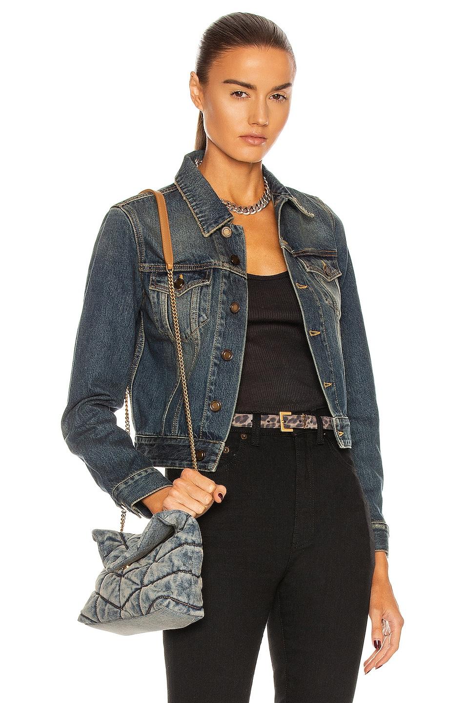 Image 1 of Saint Laurent Denim Jacket in Deep Vintage Blue