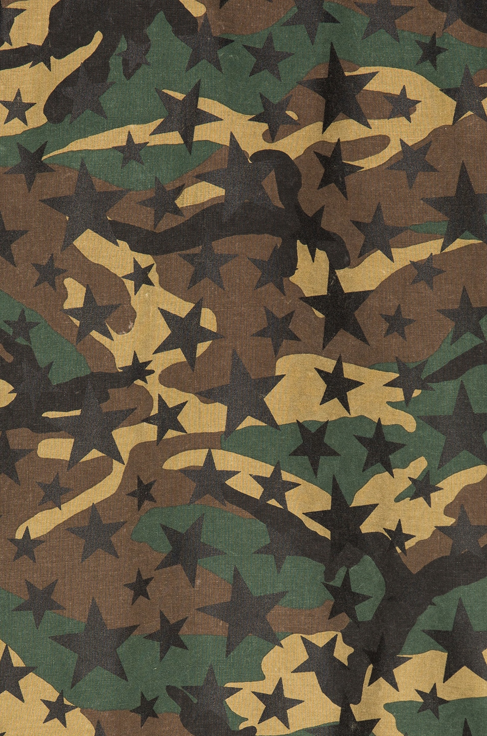 Image 6 of Saint Laurent Army Camouflage Jacket with Stars in Army Camouflage
