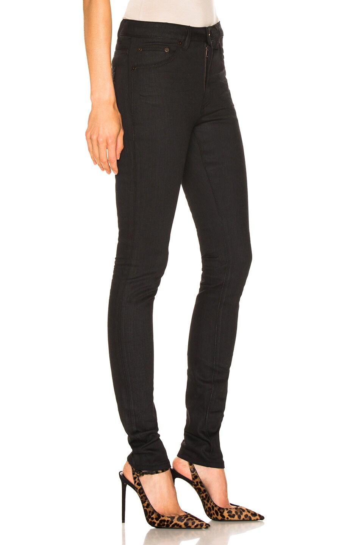 Image 2 of Saint Laurent Skinny Pant in Used Black