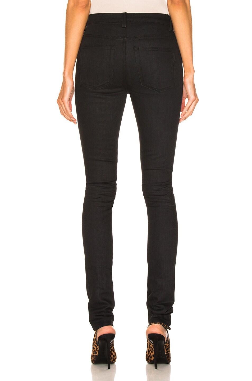 Image 3 of Saint Laurent Skinny Pant in Used Black
