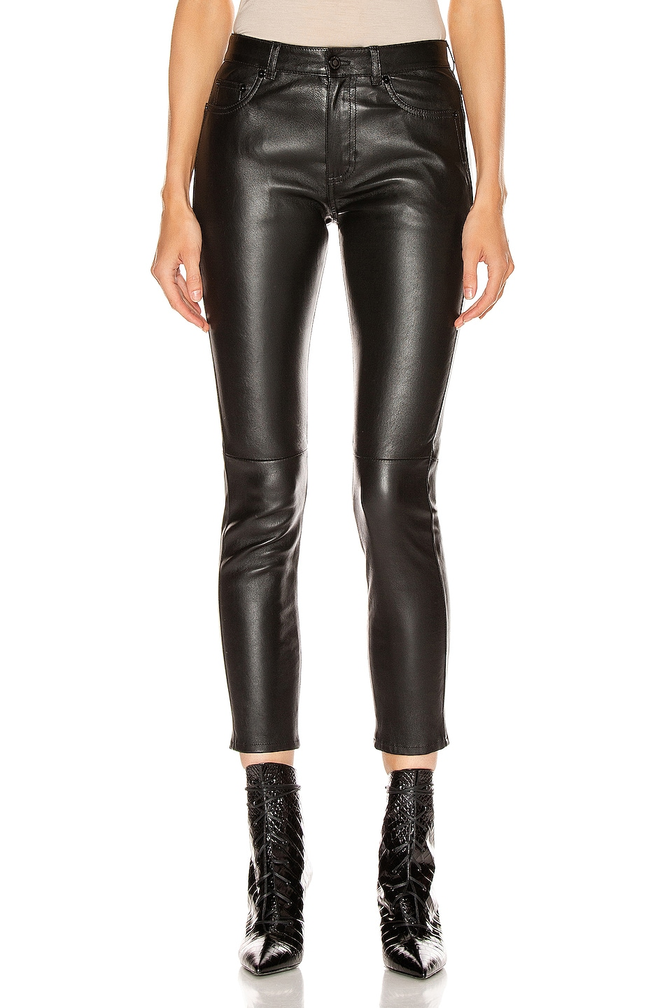 Image 1 of Saint Laurent Skinny Pant in Black