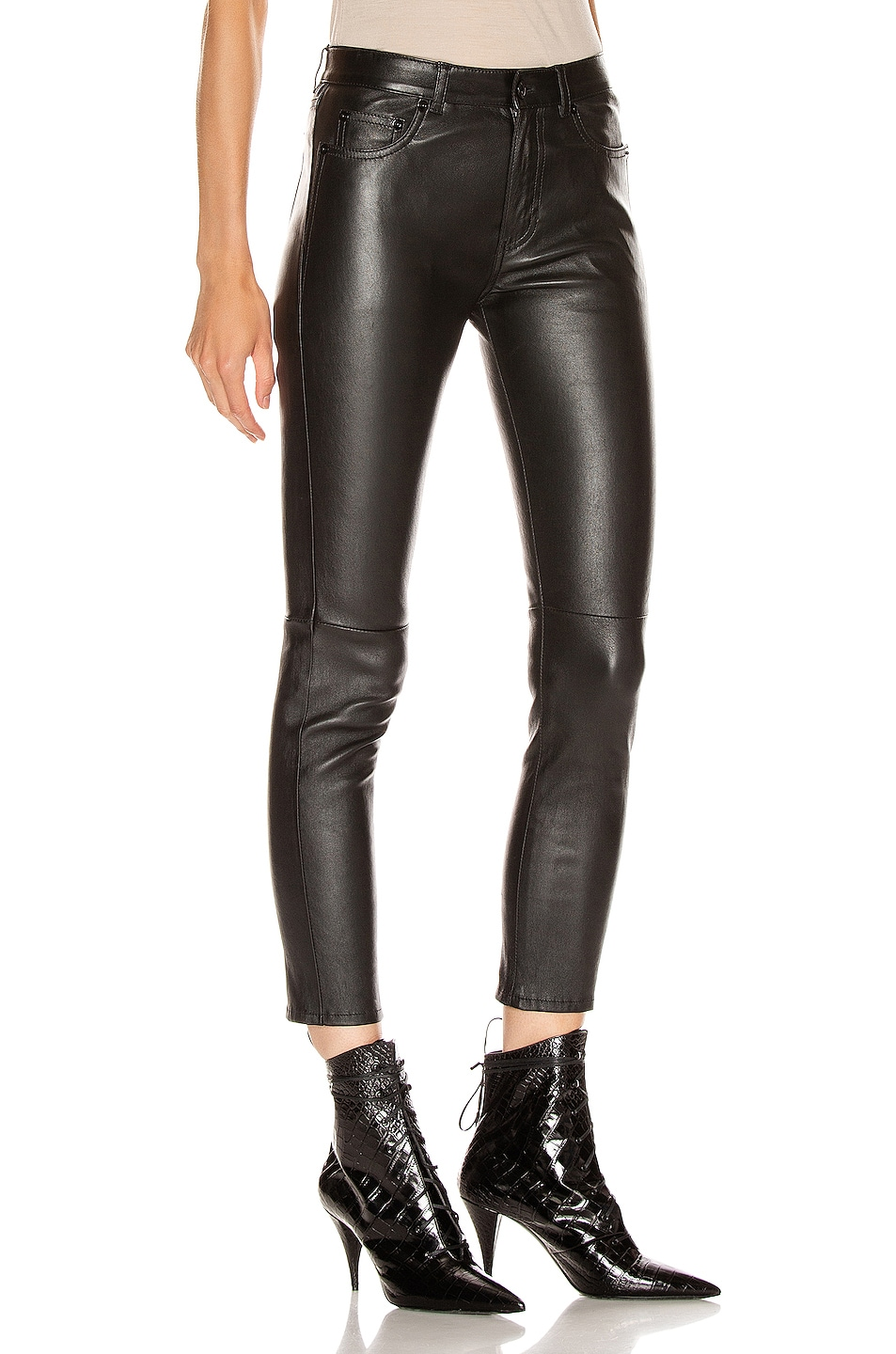 Image 2 of Saint Laurent Skinny Pant in Black