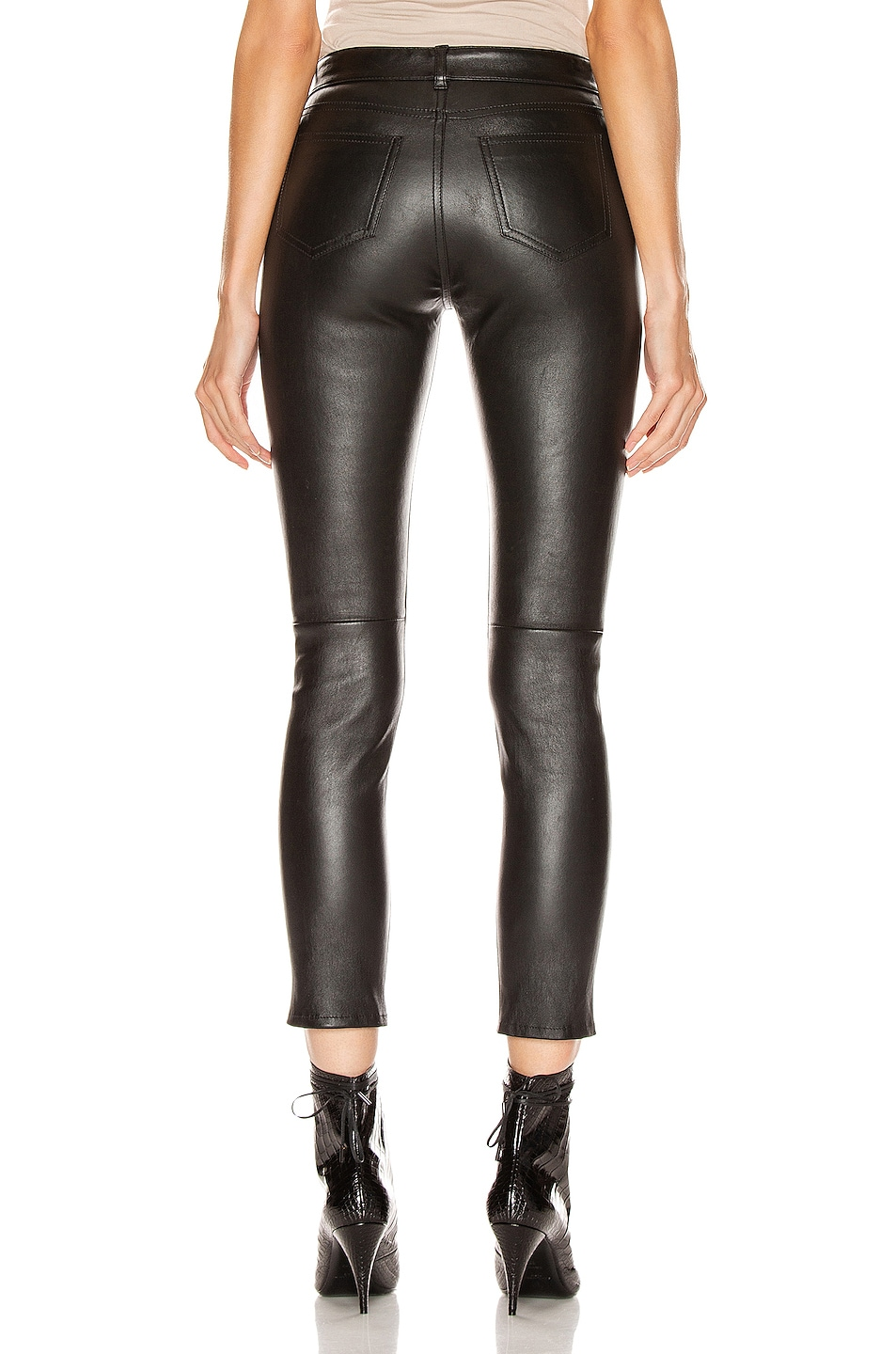 Image 3 of Saint Laurent Skinny Pant in Black