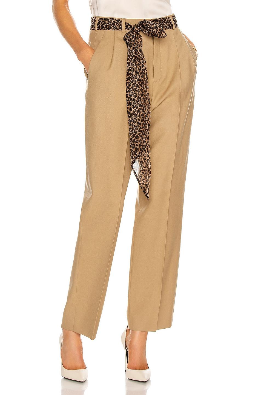 Image 1 of Saint Laurent Tailored Pant in Beige