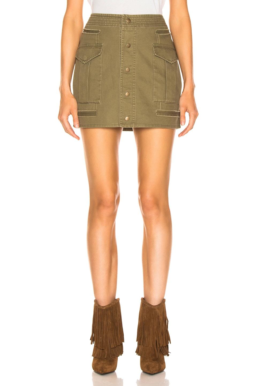 Image 1 of Saint Laurent Sportswear Skirt in Olive