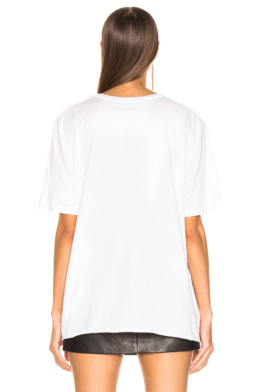 Image 4 of Saint Laurent Logo Shirt in Natural Multicolor