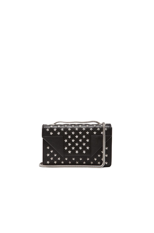8027cd7350356 Image 1 of Saint Laurent Small Stars Betty Chain Bag in Black