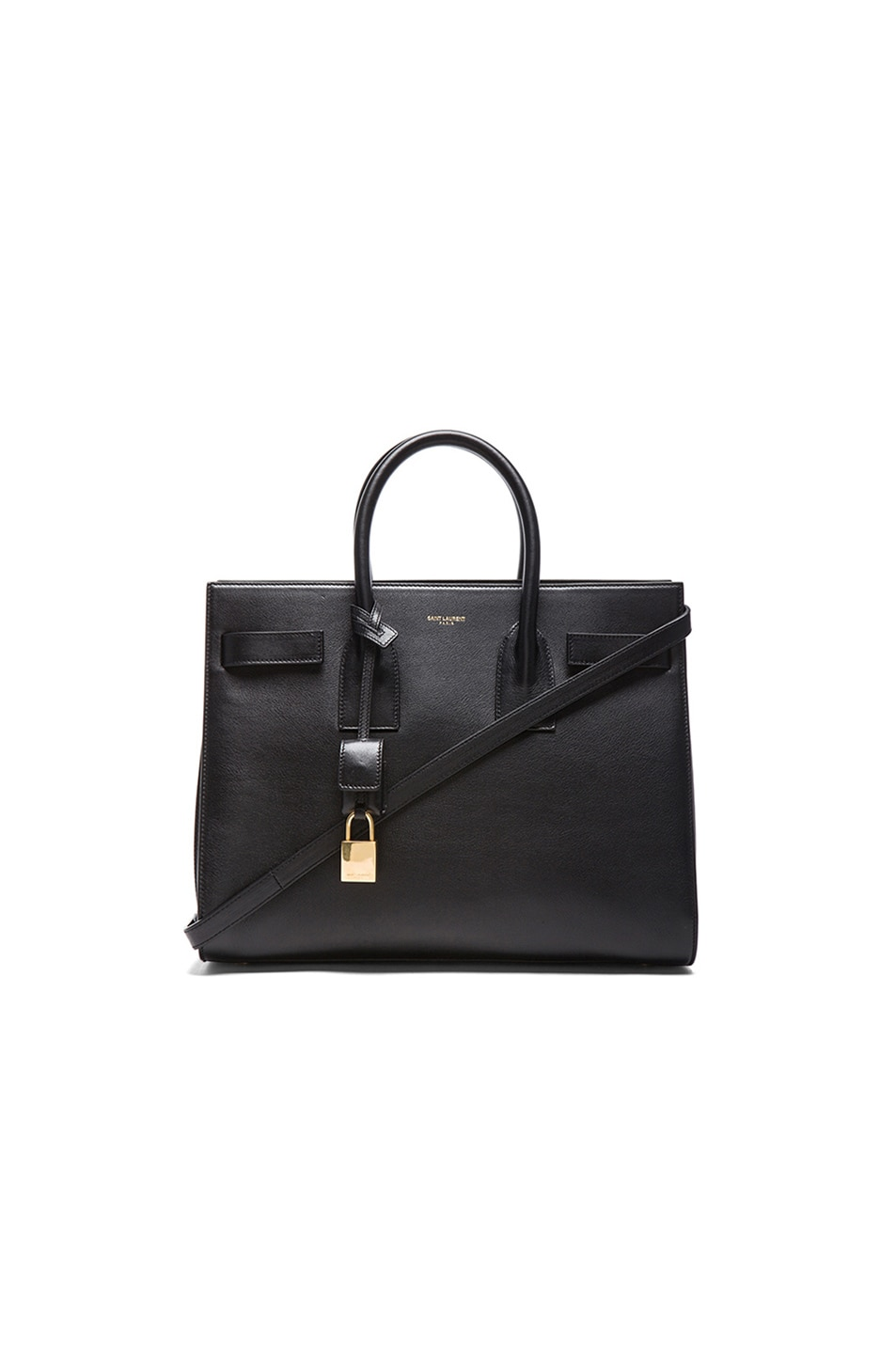 Image 1 of Saint Laurent Small Sac De Jour Carryall Bag in Black