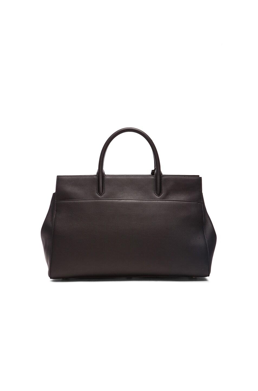 Image 3 of Saint Laurent Medium Monogramme Cabas Bag in Black