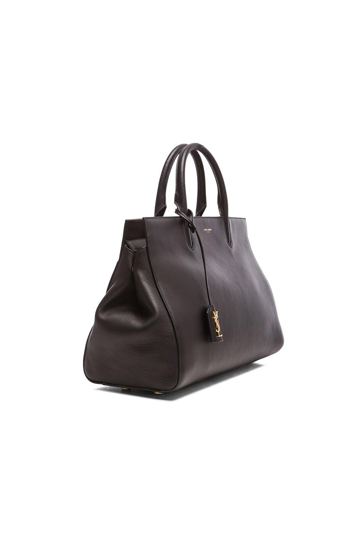 Image 4 of Saint Laurent Medium Monogramme Cabas Bag in Black