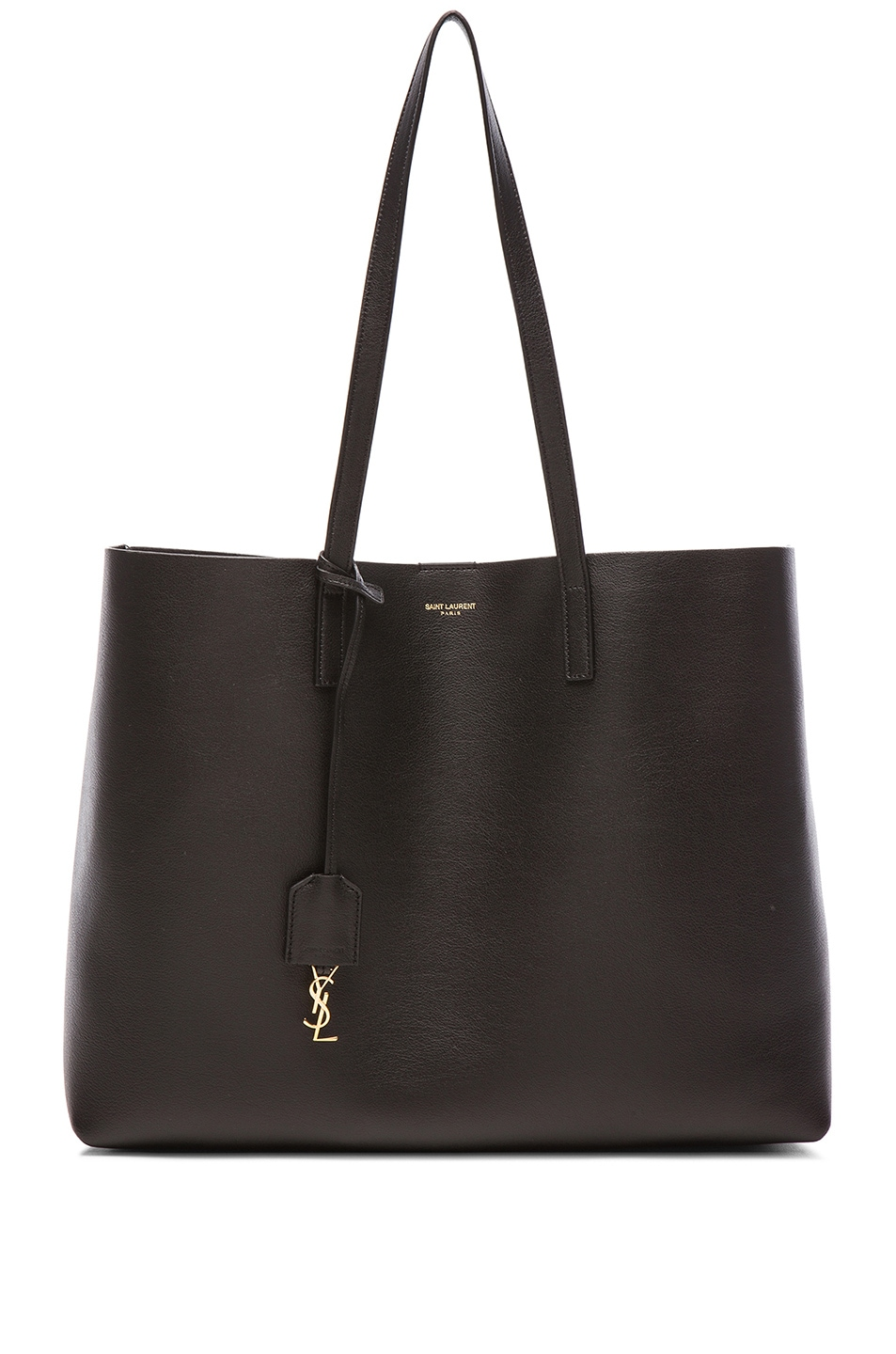 Image 1 of Saint Laurent Large Shopping Bag in Black