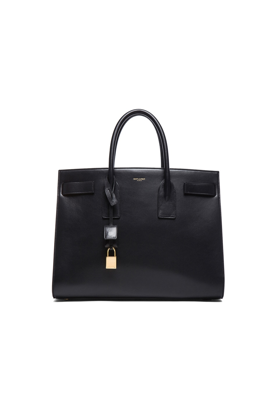 Image 1 of Saint Laurent Large Sac De Jour Carryall Bag in Black