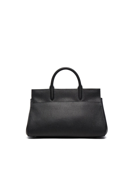 Image 3 of Saint Laurent Small Monogramme Rive Gauche Bag in Black