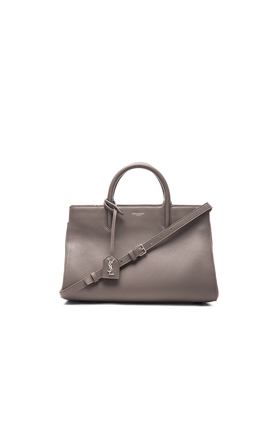 Image 1 of Saint Laurent Small Monogramme Rive Gauch Bag in Fog