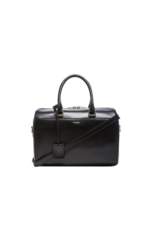 Image 1 of Saint Laurent Duffle 6 Bag in Black