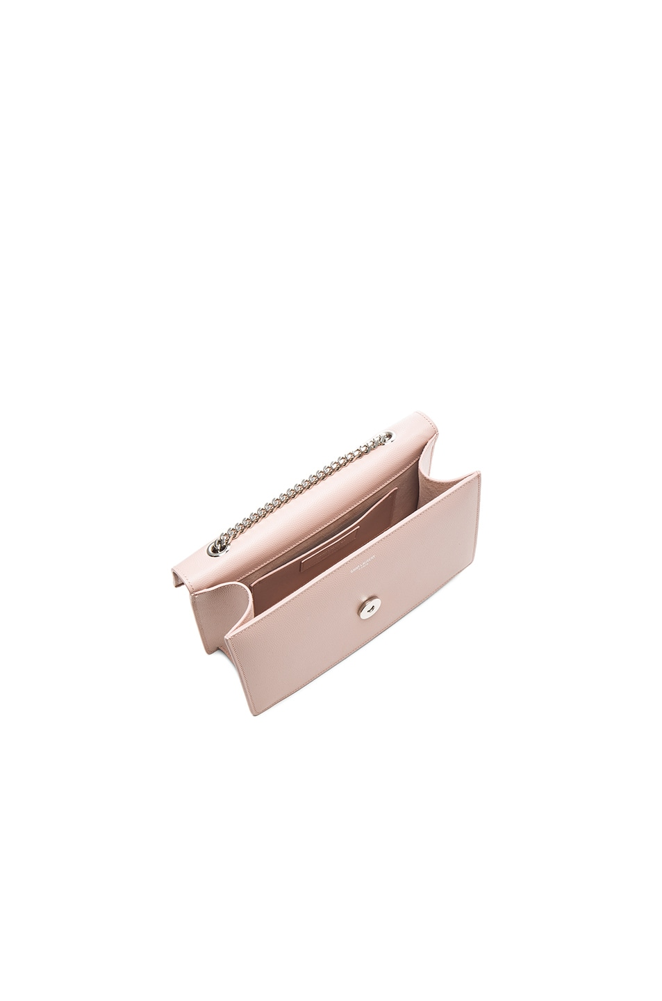 Image 5 of Saint Laurent Small Betty Chain Bag in Pale Blush