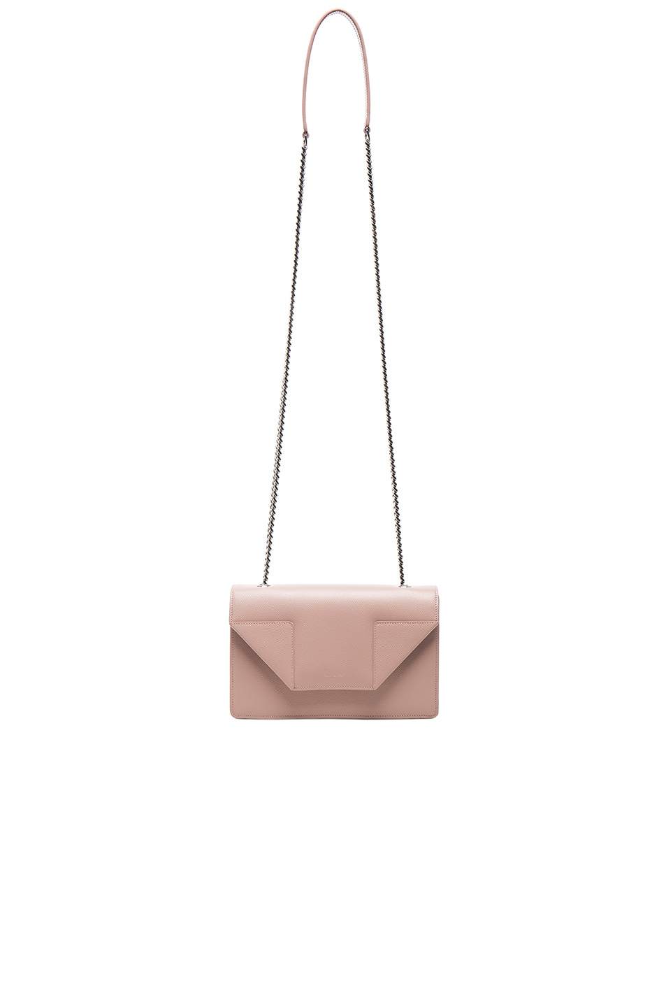 Image 6 of Saint Laurent Small Betty Chain Bag in Pale Blush