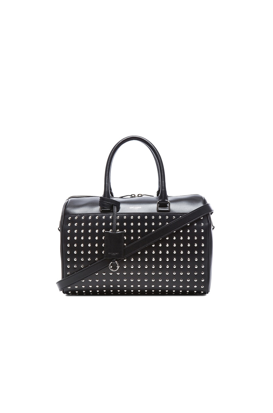 Image 1 of Saint Laurent Studded Duffle 6 Bag in Black