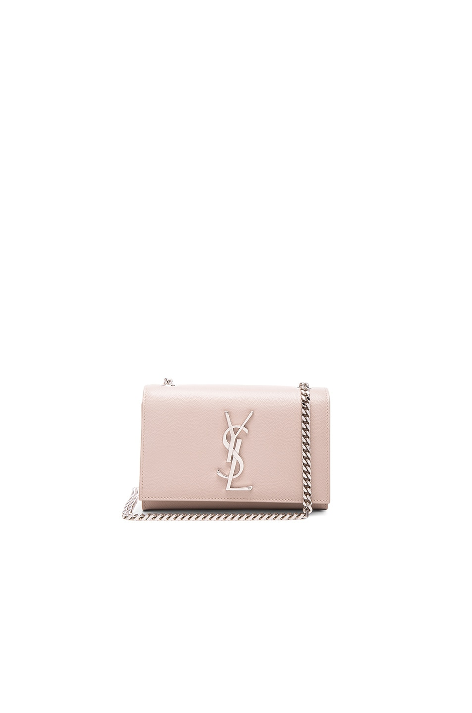 Image 1 of Saint Laurent Small Monogramme Chain Bag in Powder Rose