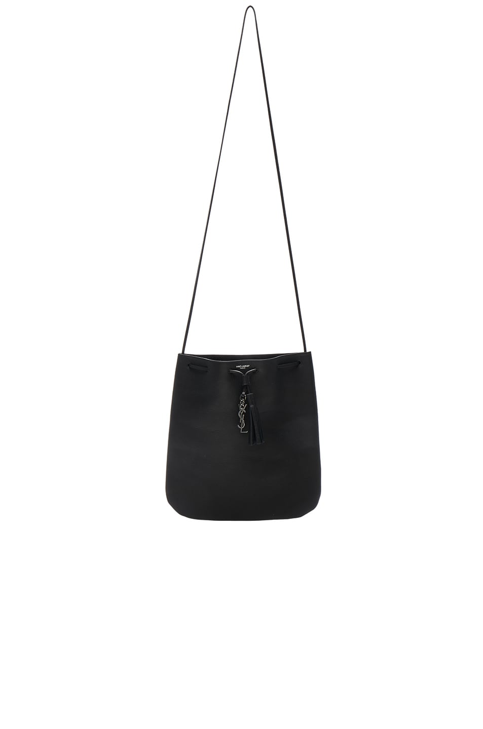 Image 1 of Saint Laurent Medium Jen Bag in Black