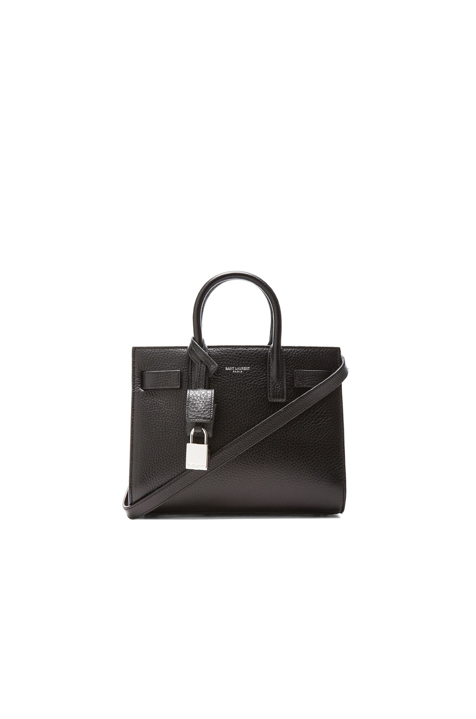 Image 1 of Saint Laurent Nano Sac De Jour Carryall Bag in Black