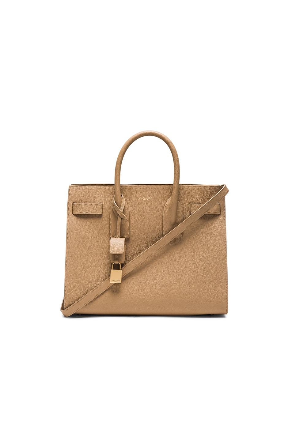 Image 1 of Saint Laurent Small Sac de Jour in Deep Beige