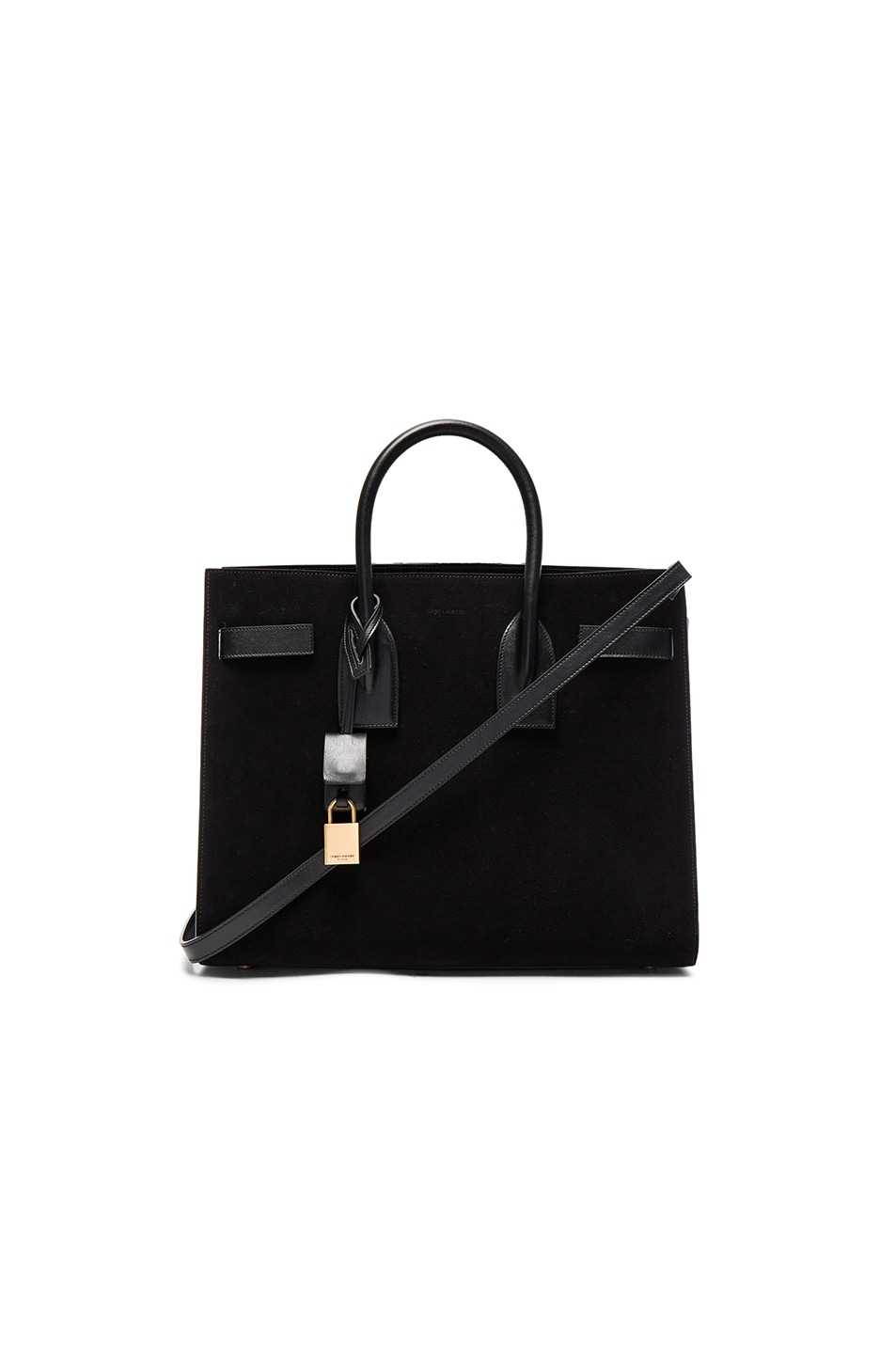 Image 1 of Saint Laurent Small Sac de Jour in Black