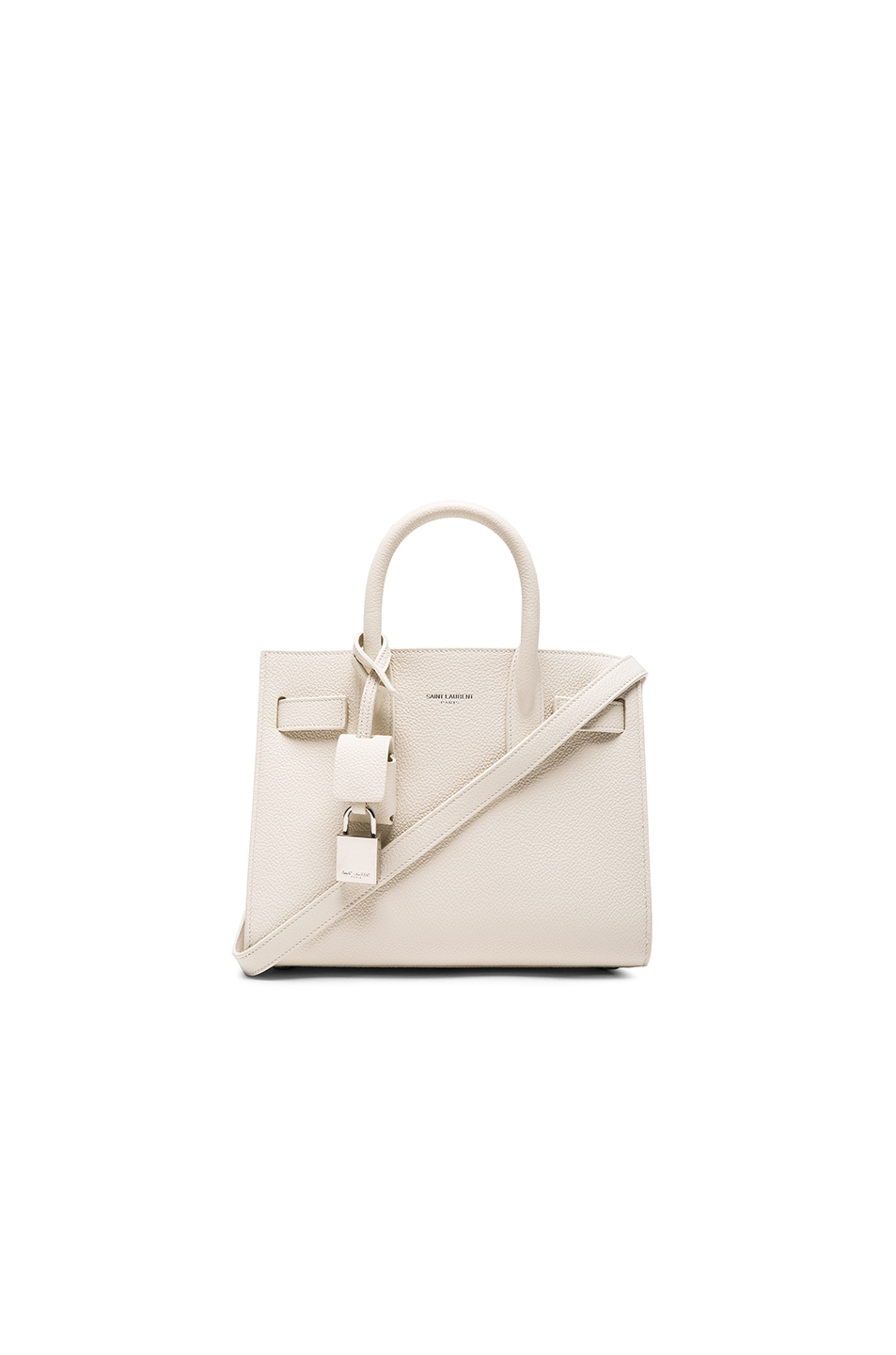 Image 1 of Saint Laurent Nano Sac de Jour in Porcelain