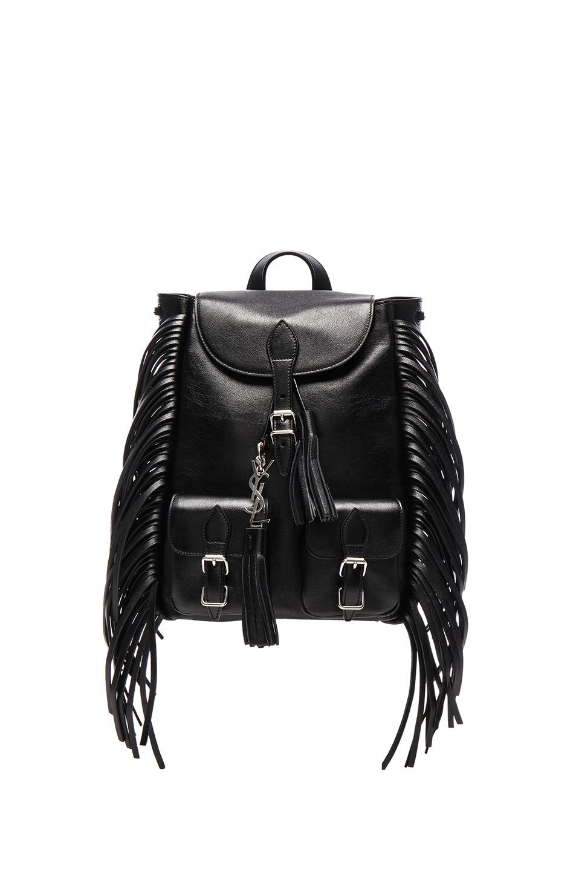599e3220 Saint Laurent Festival Backpack in Black | FWRD